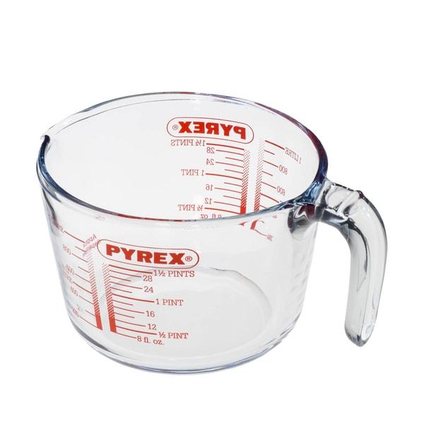 Pyrex Glas-Messbecher mit Griff 1l, 15,3x10,8cm