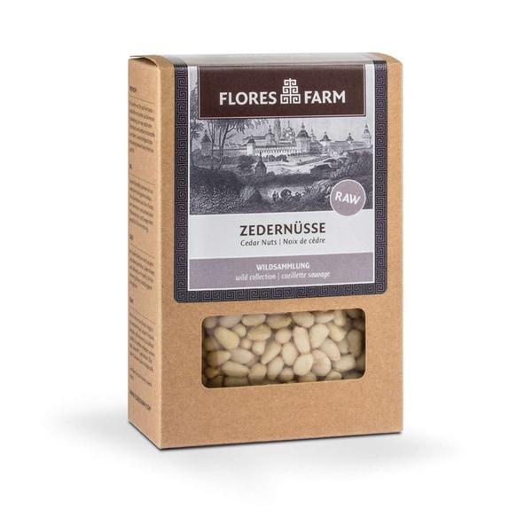Flores Farm Zedernüsse Bio 80g