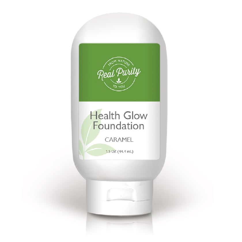 Real Purity Health Glow Cream Foundation Gesichts-Make-up caramel 44 ml