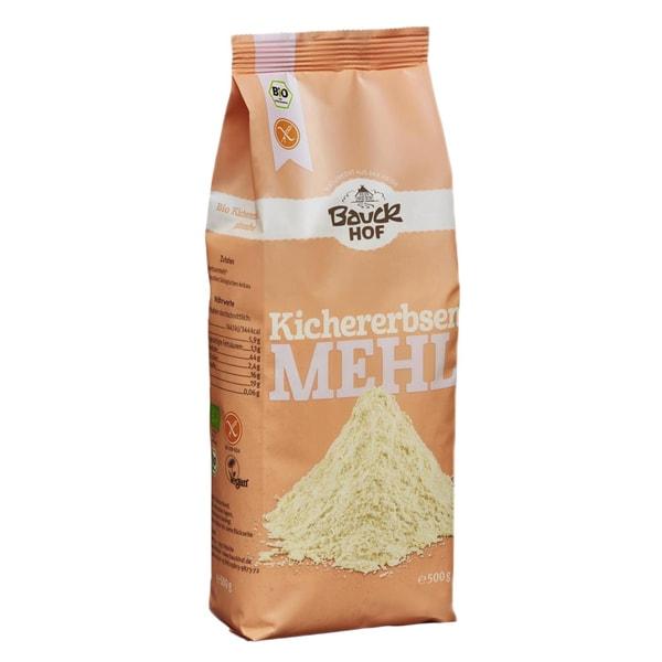Bauckhof Bio Kichererbsenmehl, glutenfrei, 500 g