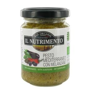 Il Nutrimento Bio Pesto Mediterraneo, Aubergine, 130 g