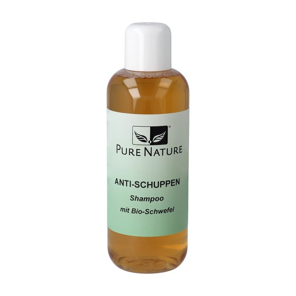 PureNature Anti-Schuppen Shampoo, Bio-Schwefel, 300 ml