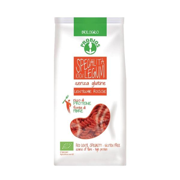 Probios Bio Nudeln aus roten Linsen 250g