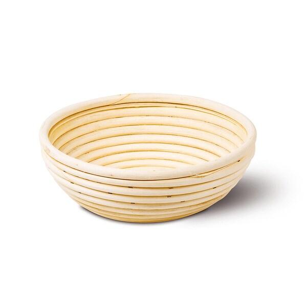 Komo Peddigrohrkörbchen rund für ca 1 kg Brotteig