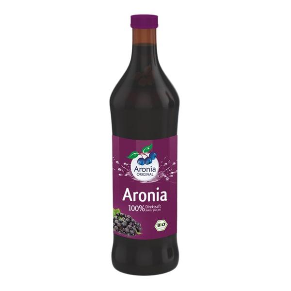 Aronia Original Aroniabeeren Direktsaft, Bio, 0,7 l