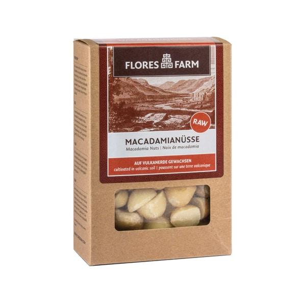 Flores Farm Macadamianüsse Bio 75g