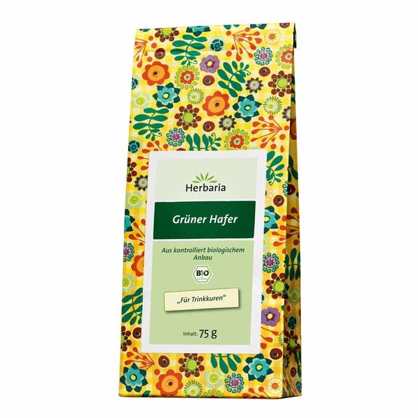 Herbaria Bio Grüner Hafer-Tee 75g