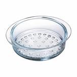 Pyrex Dämpf/Dunsteinsatz aus Glas