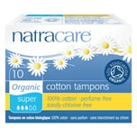 Natracare Super Tampons 10 Stück