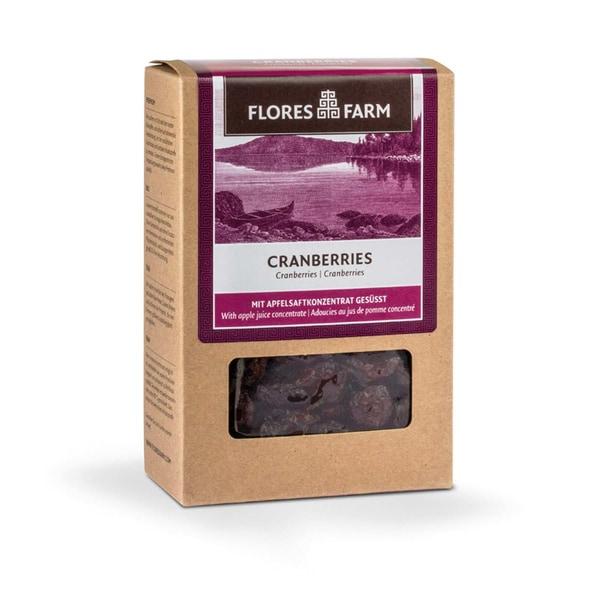 Flores Farm Bio Cranberries, 100 g