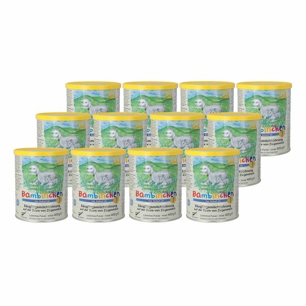 Bambinchen 1 Säuglings- Milchnahrung, 12x400 g
