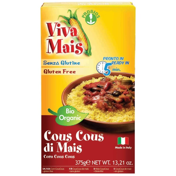 Probios Viva Mais Cous Cous, Bio, glutenfrei, 375 g
