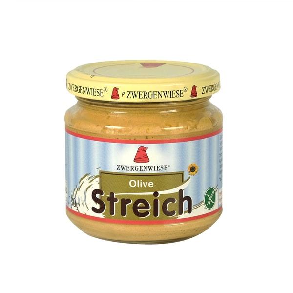 Zwergenwiese Olive Streich Aufstrich, Bio, 180 g