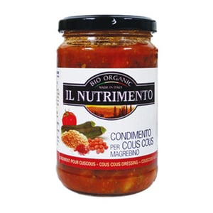 Il Nutrimento Bio Fertigsauce für Cous Cous 280g