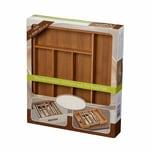 PureNature Besteckkasten Simon , Bambus, ausziehbar