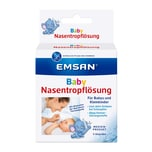 Emcur Baby Nasentropflösung ohne Konservierung, 5 Ampullen
