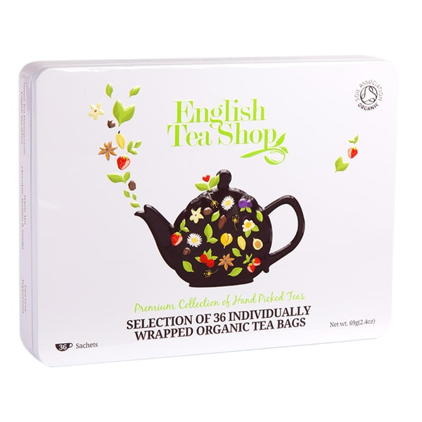 English Tea Shop Bio Classic Tee Geschenkbox, 36 Beutel