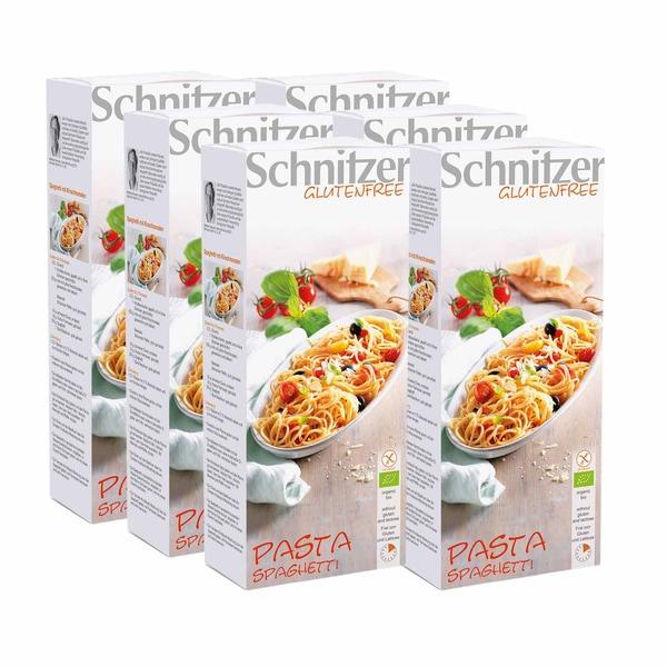 Schnitzer Bio Pasta Spaghetti glutenfrei 6x250g