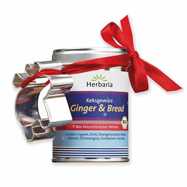 Herbaria Bio Keksgewürz Ginger und Bread 55g