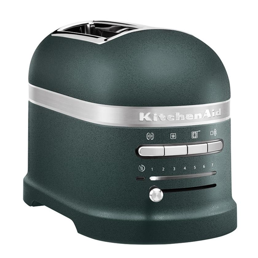 KitchenAid Artisan 2-Scheiben Toaster mit 1 Sandwichzange 5KMT2204EPP Pebbled Palm