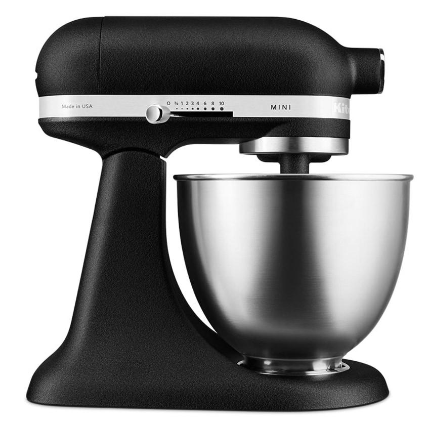 """KitchenAid Mini Limited Edition Gusseisen Schwarz - 3,3 L Küchenmaschine """"Black Beauty"""""""