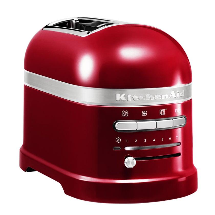 KitchenAid Artisan 2-Scheiben Toaster mit 1 Sandwichzange 5KMT2204ECA Liebesapfel Rot