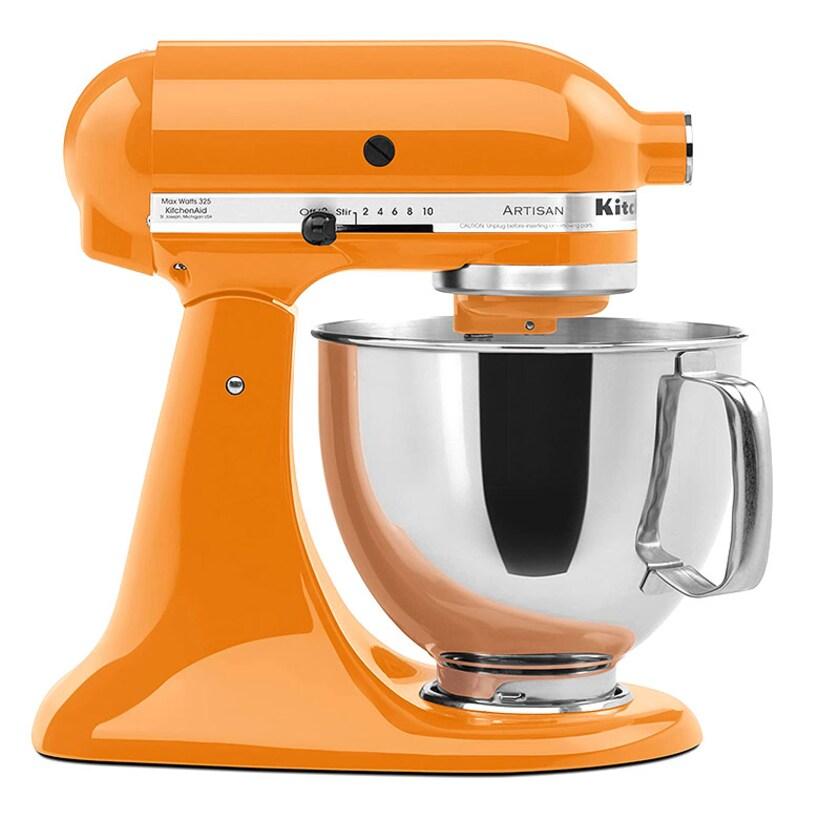 KitchenAid Artisan 4,8 Liter Küchenmaschine Modell KSM150 Tangerine