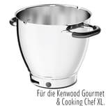 Kochschüssel KAT911SS für Kenwood Gourmet und Cooking Chef XL Connect