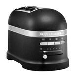 KitchenAid Artisan 2-Scheiben Toaster mit 1 Sandwichzange 5KMT2204EBK Gusseisen Schwarz