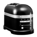 KitchenAid Artisan 2-Scheiben Toaster mit 1 Sandwichzange 5KMT2204EOB Onyx Schwarz
