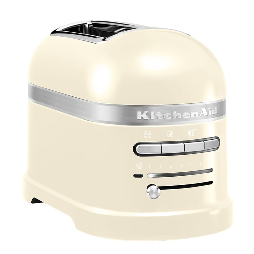 KitchenAid Artisan 2-Scheiben Toaster mit 1 Sandwichzange 5KMT2204EAC Creme