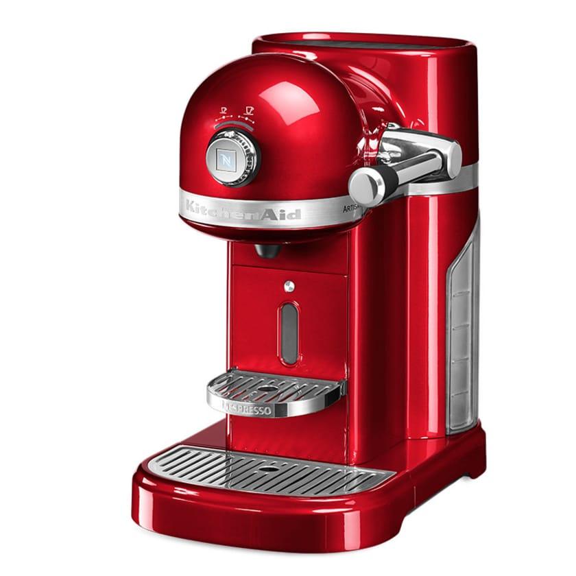 KitchenAid Artisan Nespresso Maschine Liebesapfel Rot