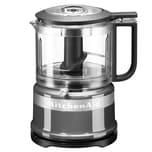 KitchenAid Mini Food Processor Kontur Silber