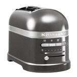 KitchenAid Artisan 2-Scheiben Toaster mit 1 Sandwichzange 5KMT2204EMS Medaillon Silber