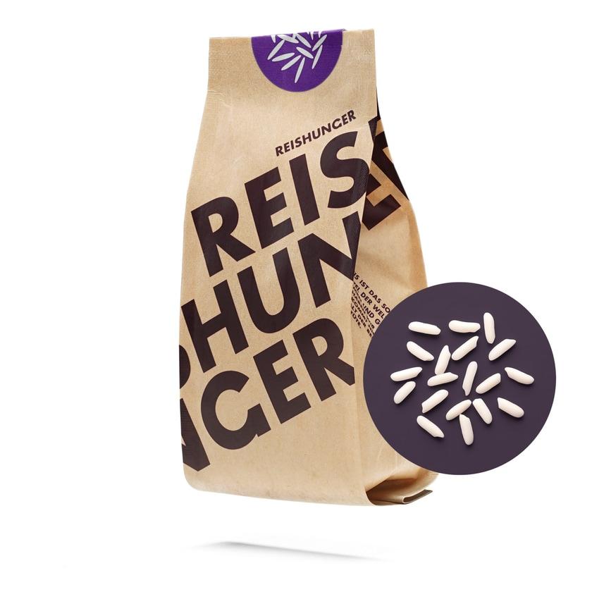 Reishunger Kleb Reis Weiß