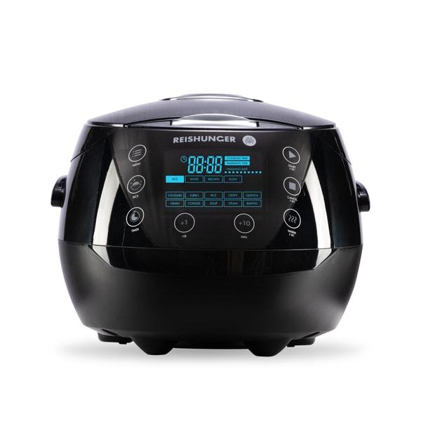 Digitaler Reishunger Reiskocher, Black, 860W, 1,5l