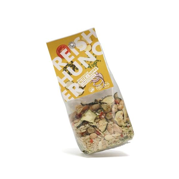 Reishunger Blitz Suppe Minestrone Bio