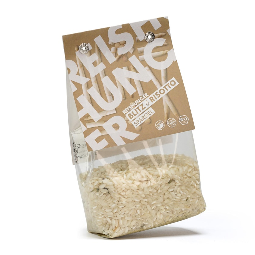 Reishunger Blitz Risotto Spargel Bio