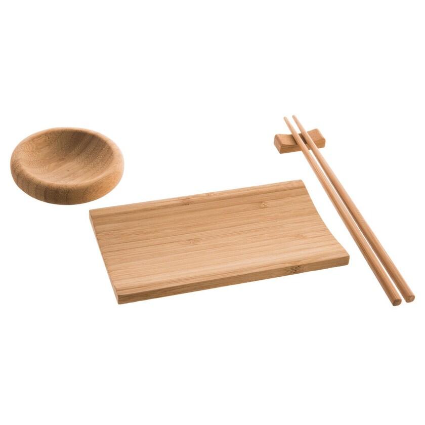 Reishunger Sushi Servier-Set für 2 Personen 4-teilig