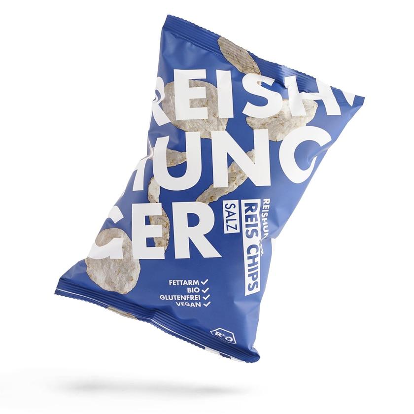 Reishunger 3er Probierset Reis Chips 3x50g