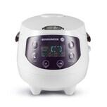 Reishunger Digitaler Mini Reiskocher 350W 0,6l weiß/aubergine