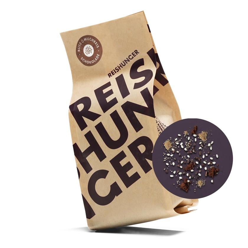 Reishunger Blitz Milchreis Schokolade