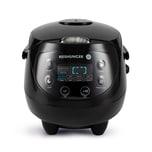 Reishunger Digitaler Mini Reiskocher 350W 0.6l Black