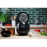 Reishunger Digitaler Mini Reiskocher 350W 0,6l schwarz