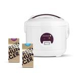 Reishunger Reiskocher 300W 0,6l + Bio Basmati und Jasmin Reis 200g Bundle