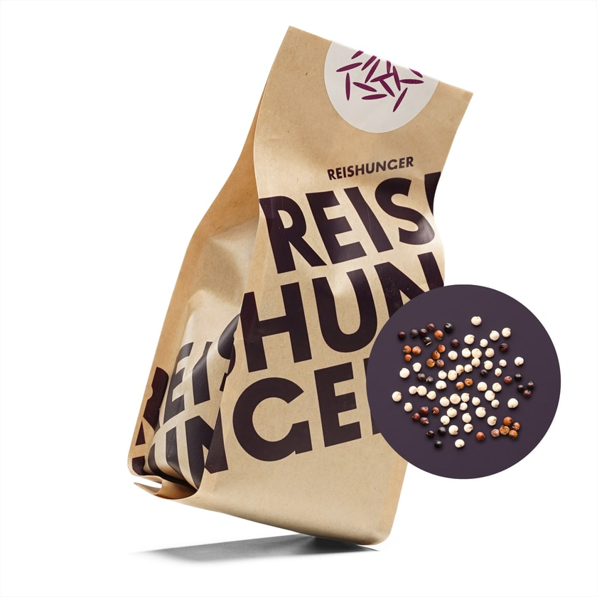 Reishunger Quinoa dreifarbig Bio