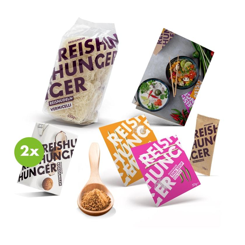 Reishunger Thai Suppen Box 6-teilig für 4 Personen