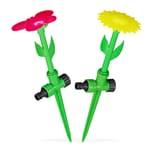 Relaxdays Sprinkler Blume 2er Set