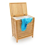 Relaxdays Wäschetruhe Holz