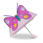 Relaxdays Kinderregenschirm mit 3D Motiv